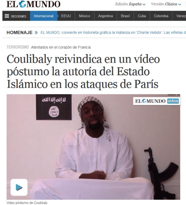 koulibaly 1 - LA MANIPULACIÓN DE LOS MEDIOS DE COMUNICACIÓN EN EL TIROTEO DE PARIS