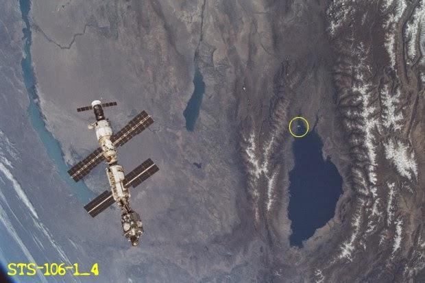 nasa graba ovni sumergiendose en lago issyk kul kirguistan 1 - NASA graba OVNI sumergiéndose en lago Issyk-Kul (Kirguistán)