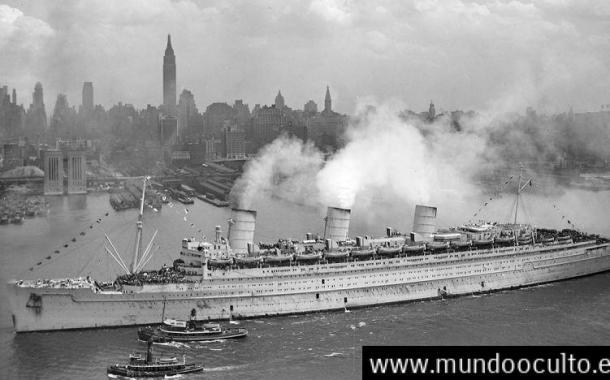 La extraña nube que envolvió al barco Mohican