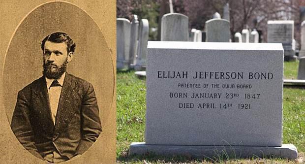 elijah tombstone - La macabra lápida Ouija de Elijah Bond