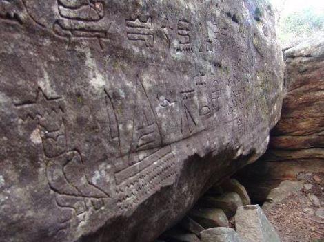 glf3 - Los glifos egipcios de Gosford, Australia