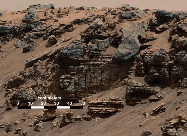lago marte1 e1418090984351 - Curiosity halla evidencia de que hubo un lago en Marte