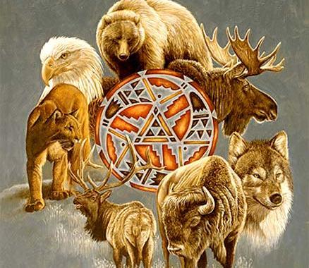 Cultura Sioux. ¿Cómo saber cuál es tu animal de poder?