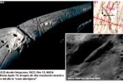 Apolo 20: Nave espacial extraterrestre y cuerpos ...en la Luna