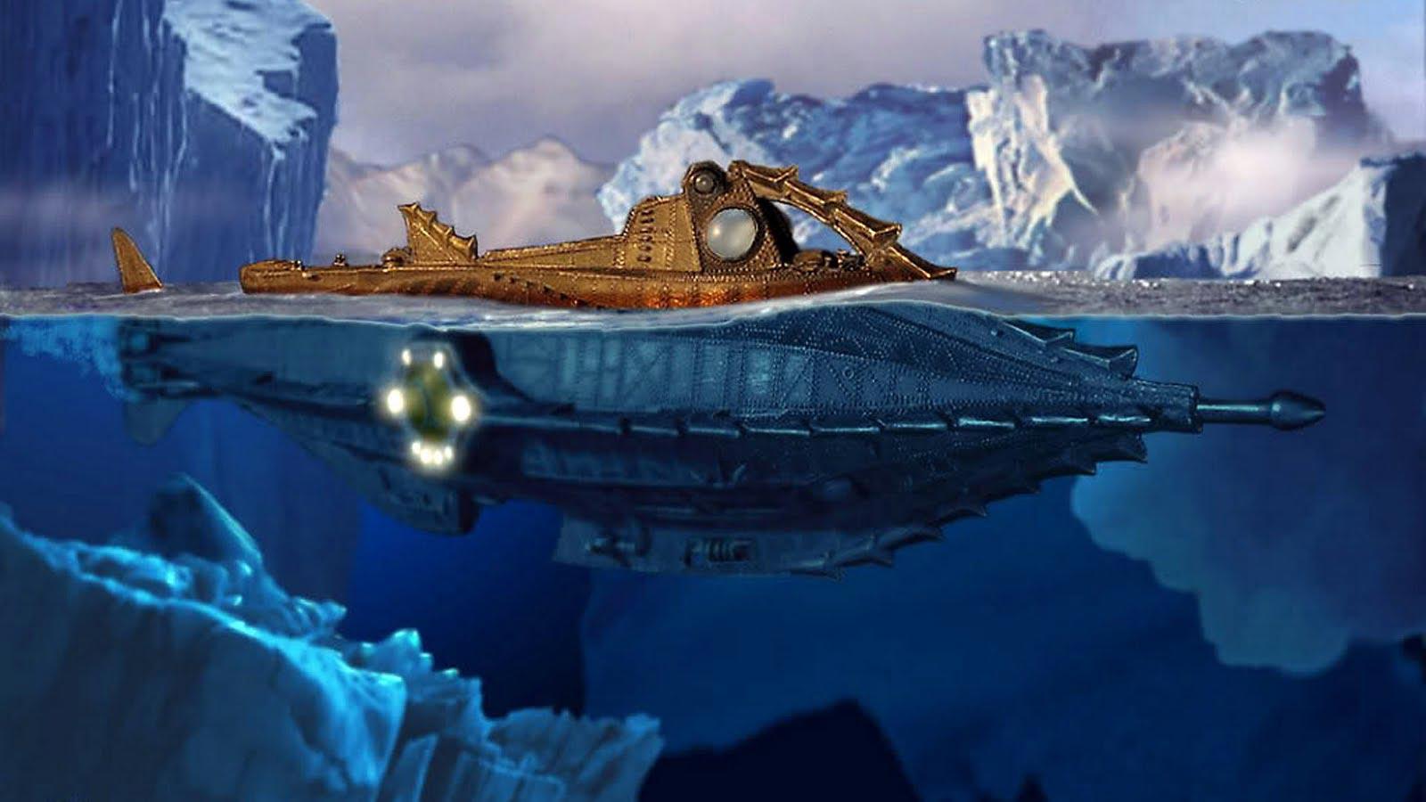 JV Nautilus 20 000 leagues under the sea remake 1 - Julio Verne y sus increíbles vaticinios que parecían ciencia ficción y hoy son toda una realidad.