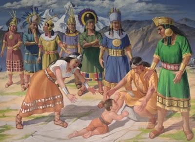 el mito de kon iraya wira kocha - El Mito de Kon Iraya Wira Kocha
