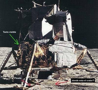 viajelunafraude12 - El viaje a la luna NO LO VIMOS, un estudio profundo afirma que las fotos son falsas.