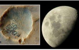 Apolo 20: Con que propósito fue a investigar los lugares misteriosos de los craters de Delporte?