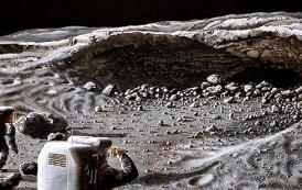 ¡Los investigadores descubren LA ENTRADA a la Luna!