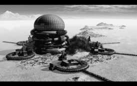 ¿Evidencia fotográfica de las ciudades antiguas bajo el hielo de la Antártida?