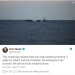 Fuerza Aérea de EE.UU. hizo estallar cohete propulsor de SpaceX