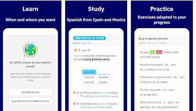 تطبيق Learn Spanish - Español