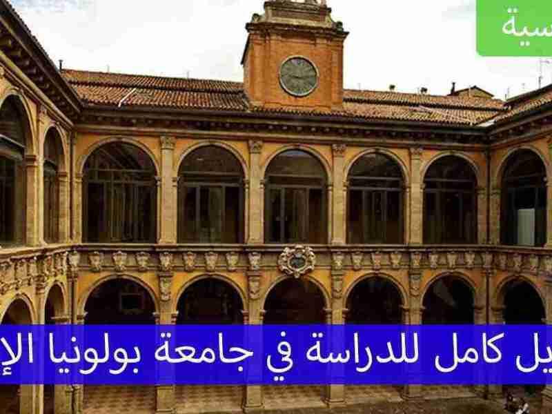 منح جامعة بولونيا الإيطالية الكاملة التمويل مع طريقة التسجيل