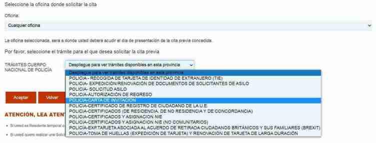 كيفية الحصول على موعد لطلب خطاب الدعوة من إسبانيا - خطاب الدعوة للسفر إلى إسبانيا