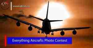 مسابقة Everything Aircrafts للتصوير الفوتوغرافي وجوائز مالية بقيمة 500 دولار
