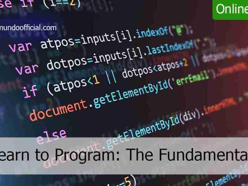 دورة أونلاين مجانية بعنوان أساسيات تعلم البرمجة عبر الإنترنت من جامعة تورنتو الكندية
