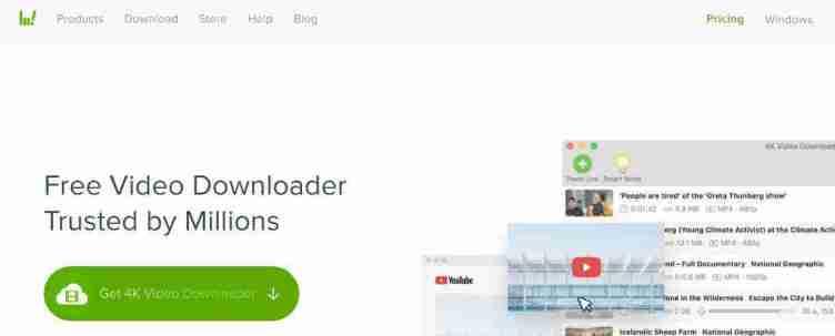 5. برنامج 4K Video Downloader