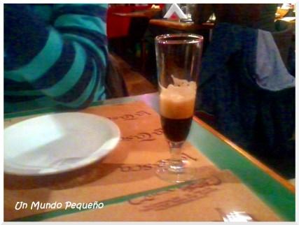 cerveza negra artesanal