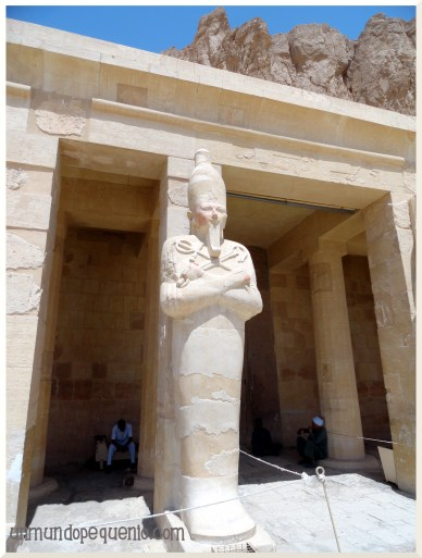 Estatua del Templo de Hatshepsut