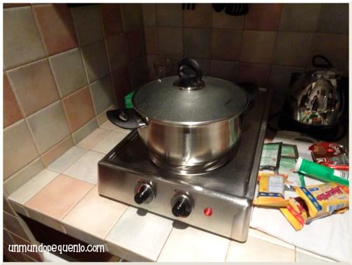 Residence Candia Cocina