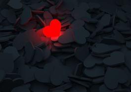 coração aceso de amor