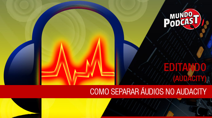 Como separar áudios no audacity