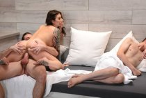 Real Wife Stories - Ivy Lebelle - Secret Sauna Sex
