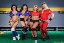 Brazzers Live - Phoenix Marie, Veronica Avluv, Romi Rain & Brooklyn Chase - The Brazzers Halftime Show II