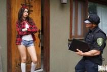 Latina Sex Tapes - Betrayed Latina Gets Cop Cock - Melissa Moore