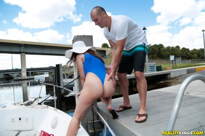 Big Naturals - Big Tits On A Boat - Ivy Rose
