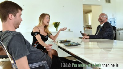 FamilyStrokes - Britney Amber - Mind Your Manners And Your Dick