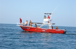 puerto en isla Holbox