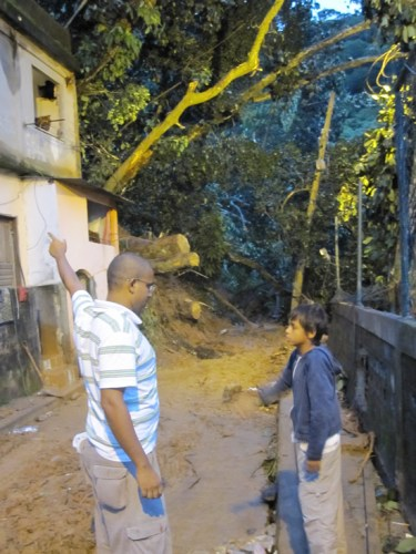 Relief Effort in Rocinha, Rio de Janerio After The Mudslides