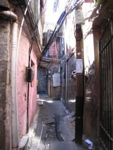 Rocinha Alleyway
