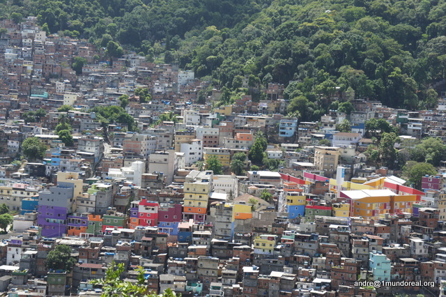 View of Rua 4 - Rocinha