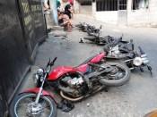 Abandoned Motorcyles