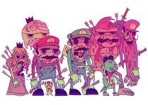 Nintendo Zombies by Dan Hipp