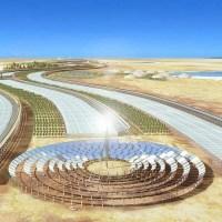 Invernadero en el Desierto de Qatar