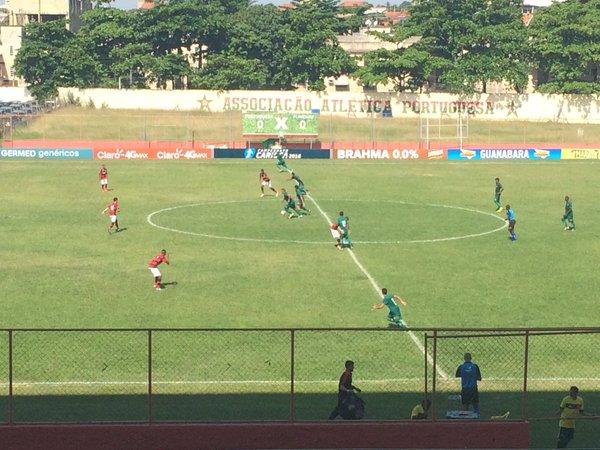 Com reservas, Flamengo sub-20 perde para a Portuguesa na Ilha