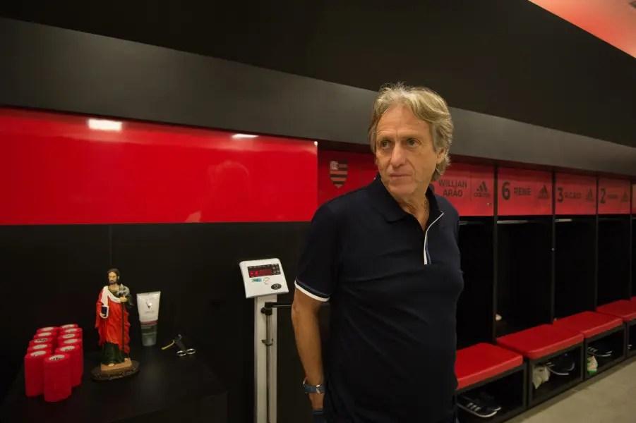 Em apresentação no CT, Jesus exalta o Flamengo, e revela pedida por mais reforços
