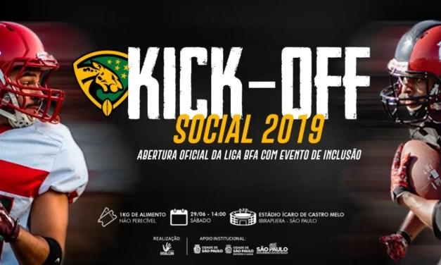 Flamengo Imperadores faz estreia na BFA no Kickoff Solidario contra a Portuguesa