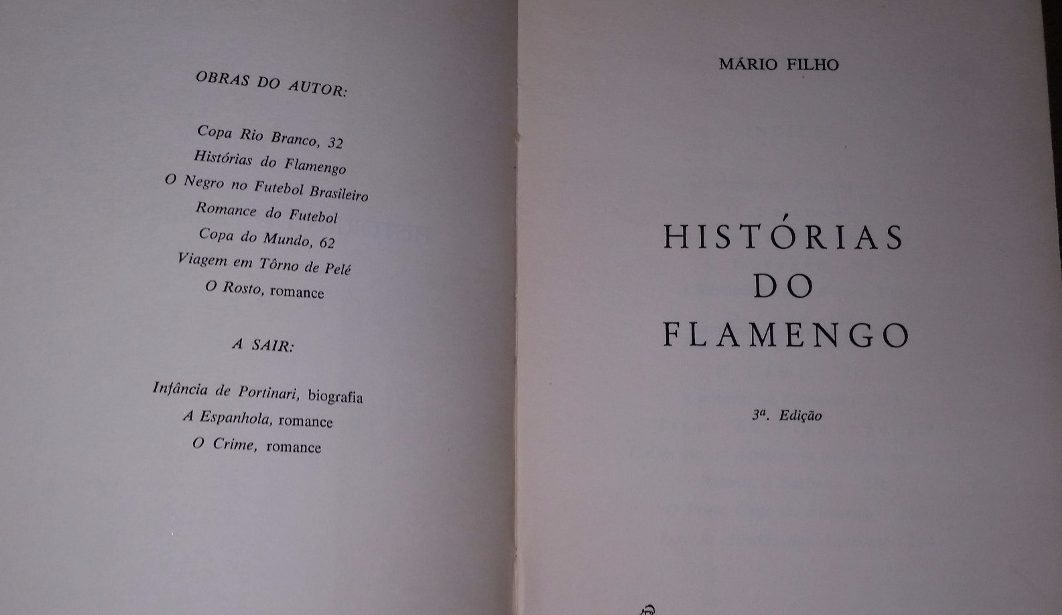 10 livros obrigatórios para todo torcedor do Flamengo