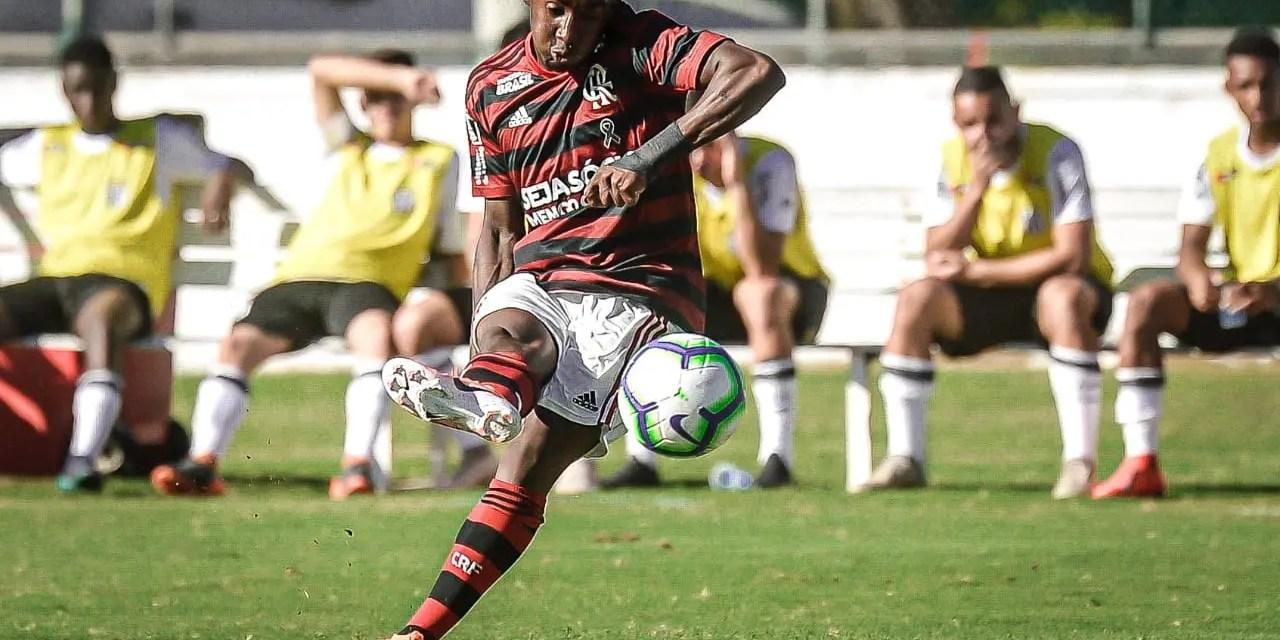 Flamengo domina a ponta da tabela e a artilharia do Brasileiro Sub-20