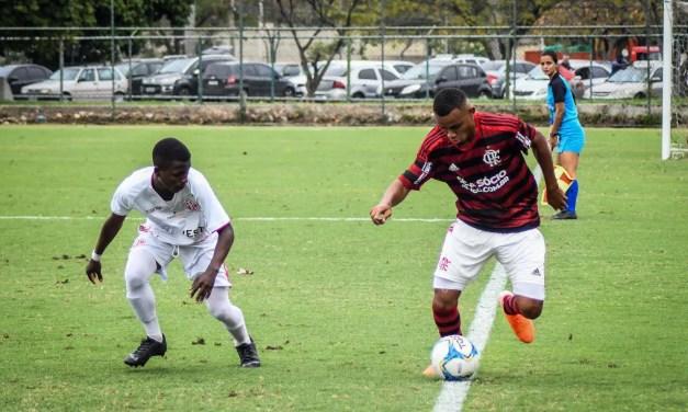 Sub-17 enfrenta o Itaboraí pelas quartas de final da Taça Rio