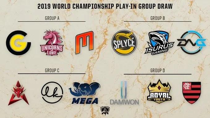 Grupo do Flamengo eSports no Mundial de League of Legends é definido