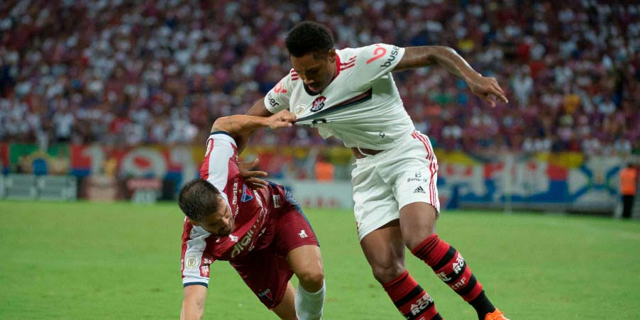 Notas e atuações de Fortaleza 1×2 Flamengo