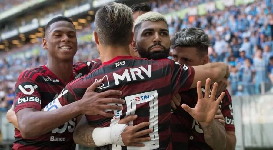 Notas e atuações de Grêmio 0x1 Flamengo