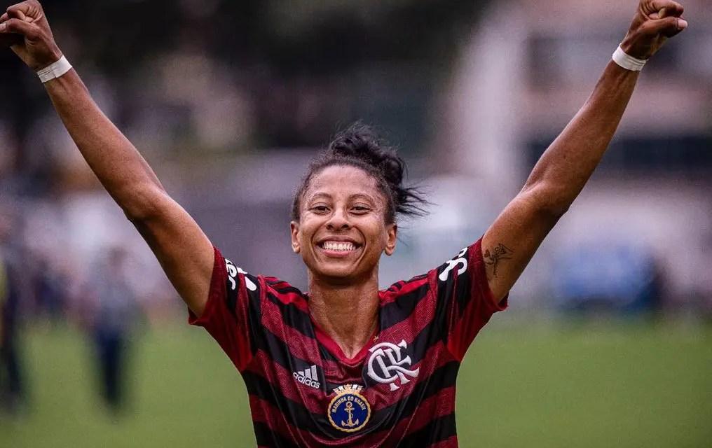 Raiza marca nos acréscimos, e Flamengo/Marinha abre vantagem na final do Carioca Feminino