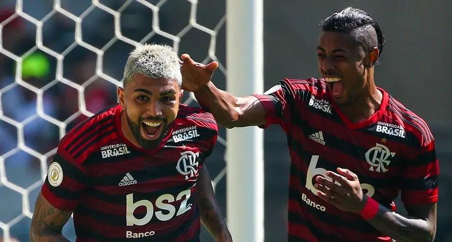Gabigol e Bruno Henrique aparecem em lista de melhores jogadores do mundo de jornal inglês
