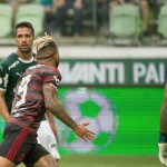 Notas e análises das atuações  de Palmeiras 1×3 Flamengo